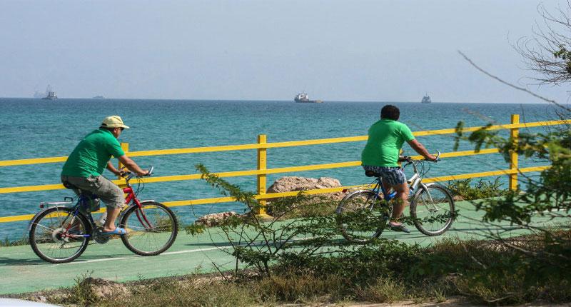 دوچرخه سواری در کیش